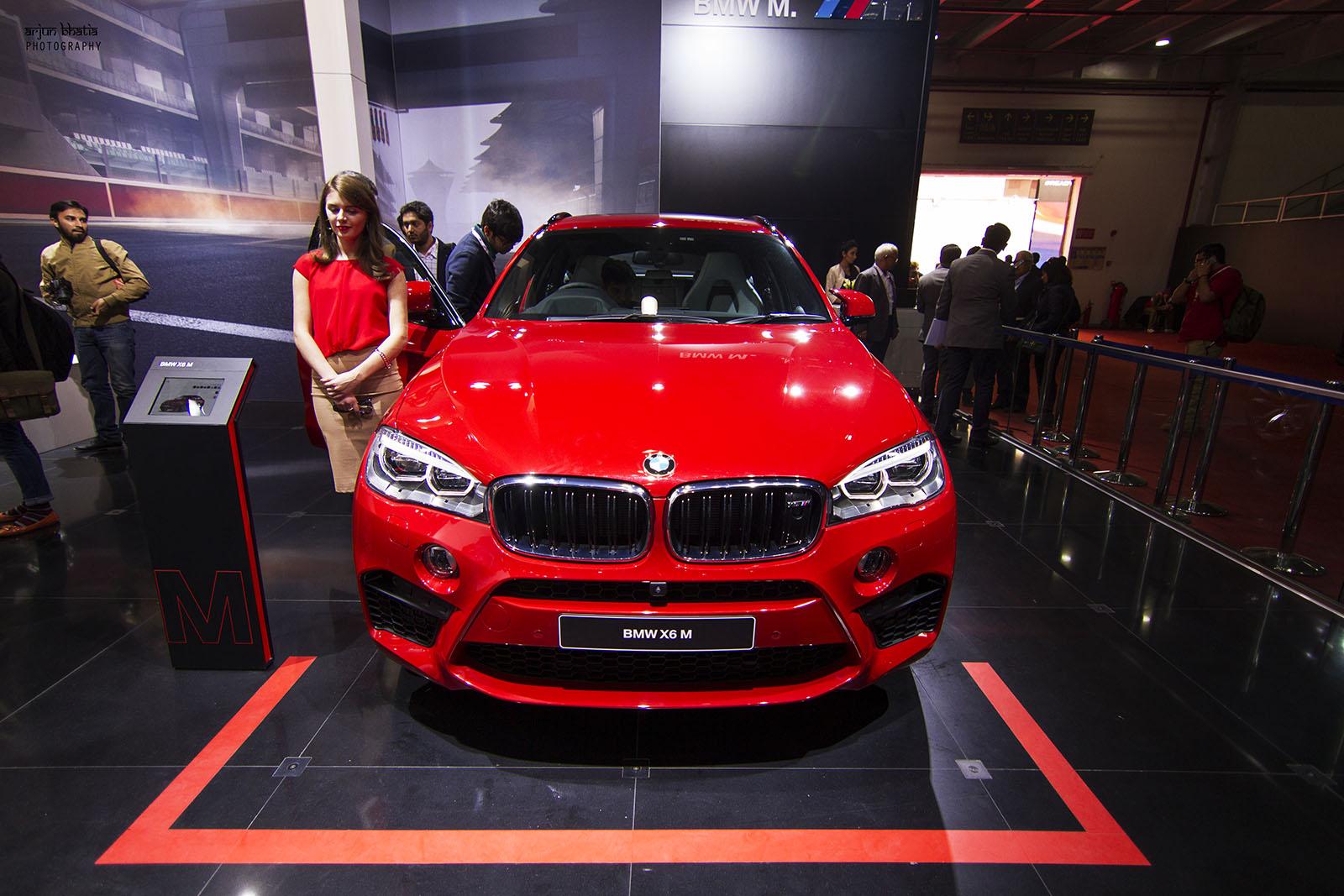 BMW X6 M Delhi Auto Expo 2016 2