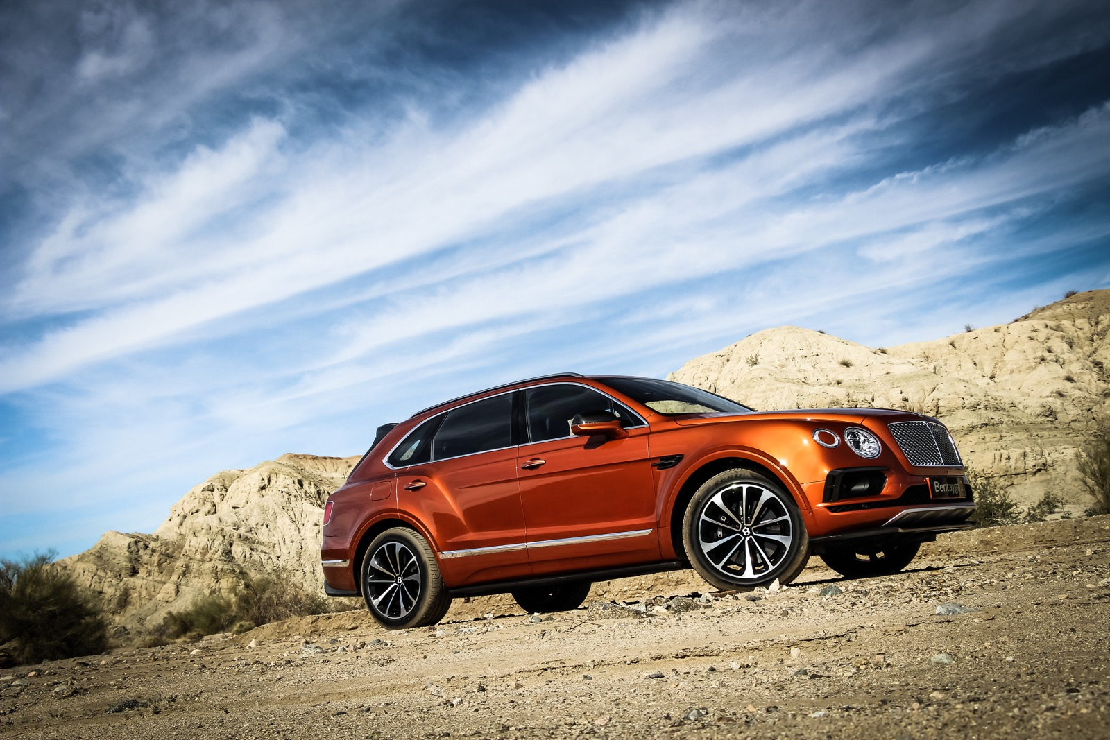 Bentley Bentayga Orange