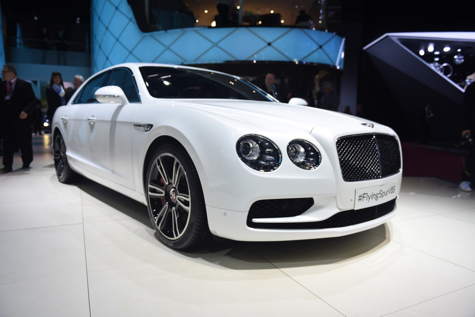 Geneva 2016 Bentley Flying Spur V8 S Gtspirit