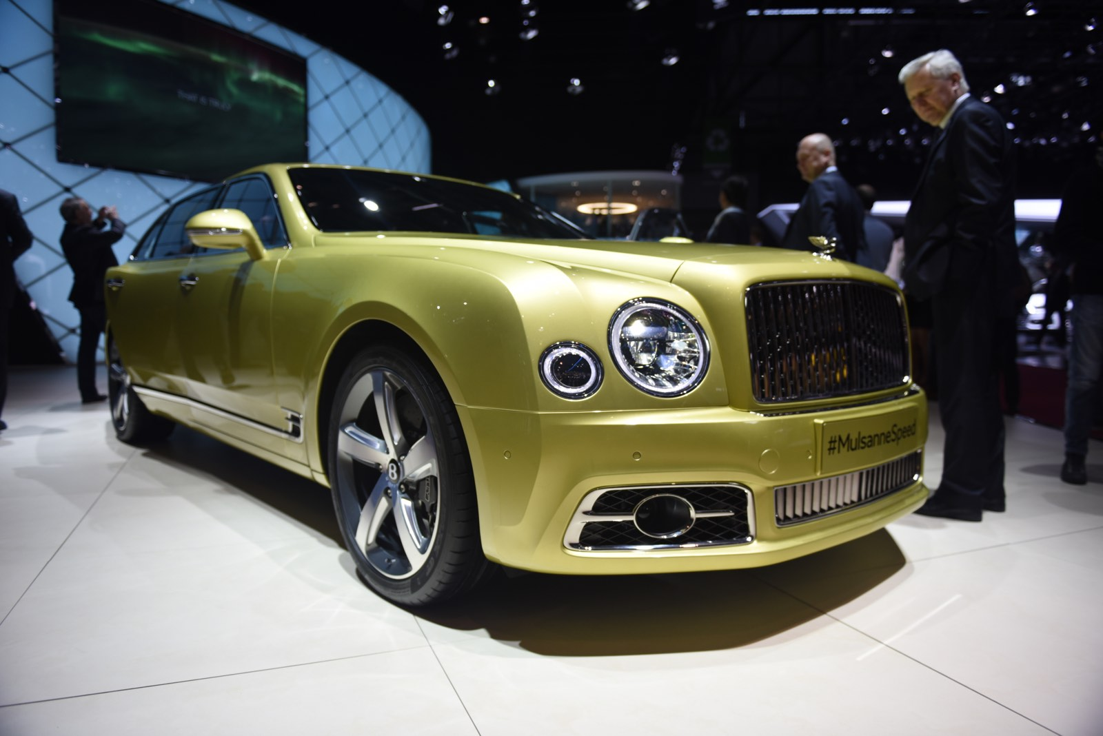 New Bentley Mulsanne