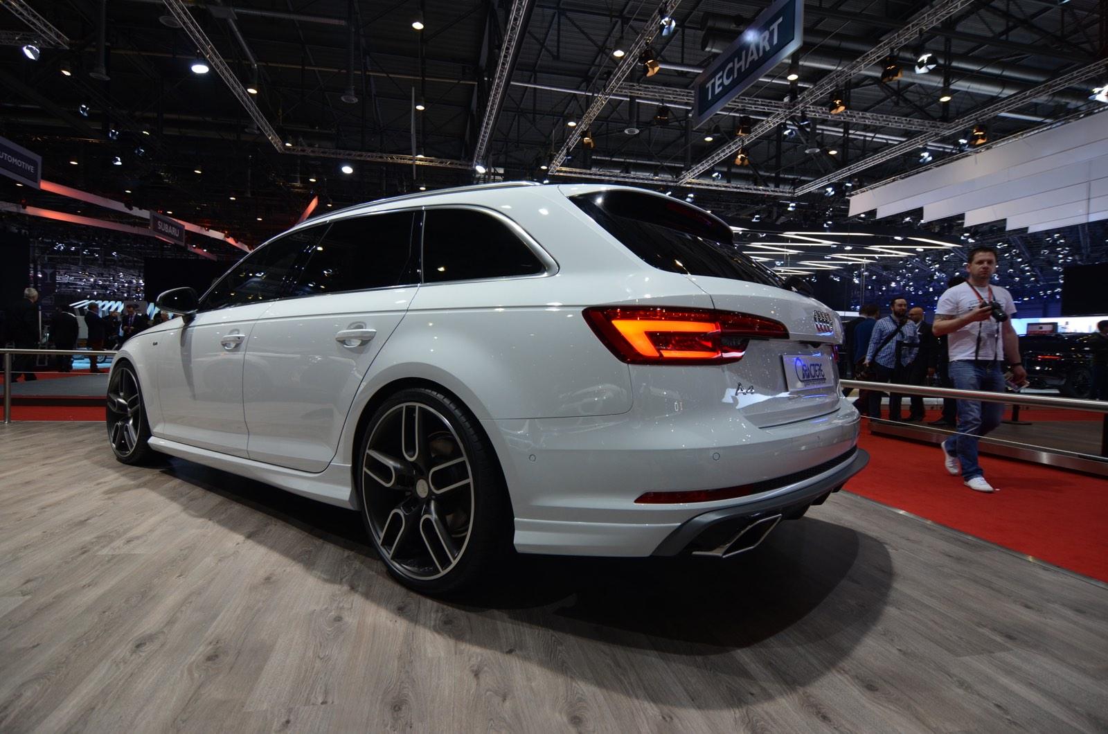 Audi A4 2.0 T >> Geneva 2016: Caractere Exclusive Audi A4 Avant - GTspirit