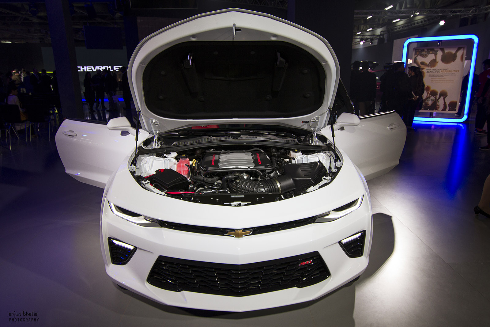 Chevrolet Camaro SS Delhi Auto Expo 2016 2
