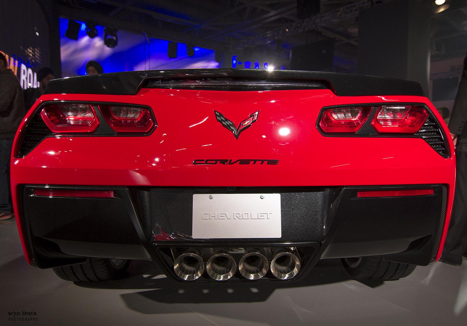 Chevrolet Corvette Stingray Delhi Auto Expo 2016 1