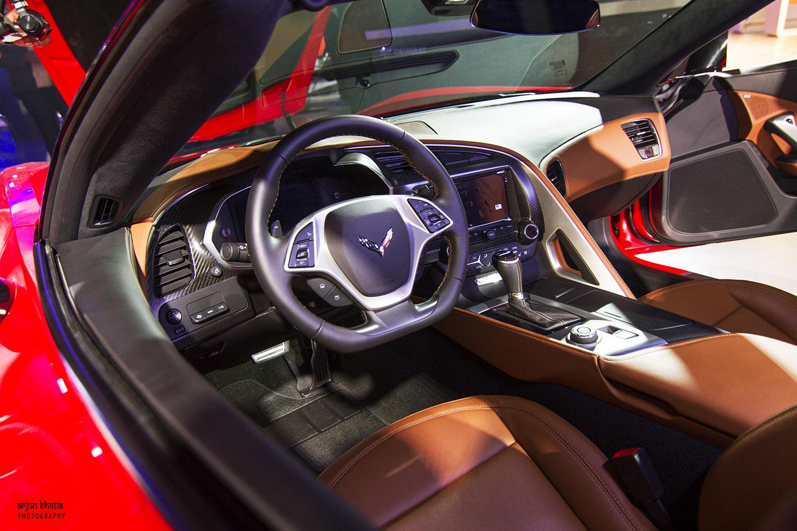 Chevrolet Corvette Stingray Delhi Auto Expo 2016 2
