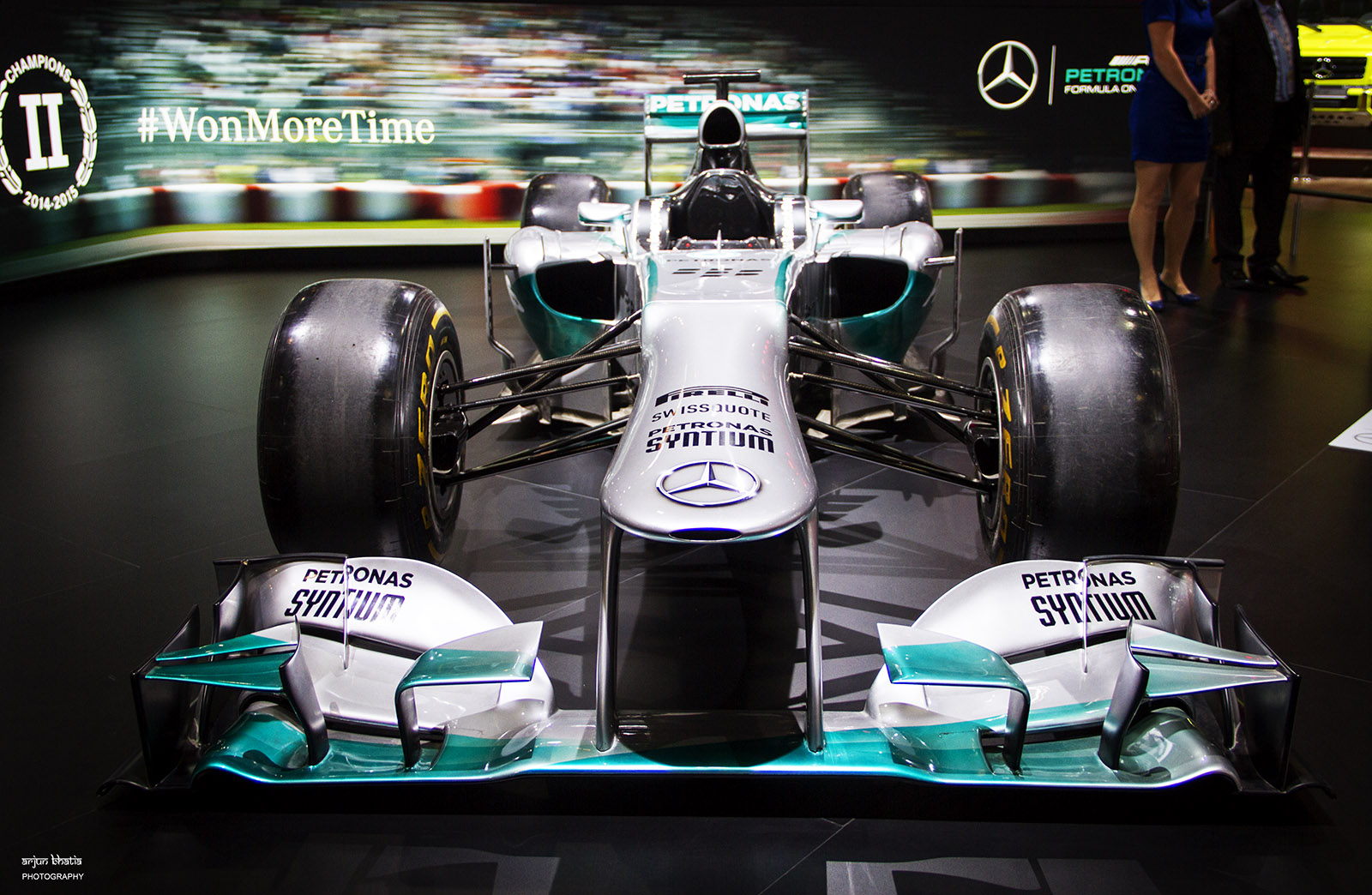 F1 W04 Hybrid AMG Petronas Delhi Auto Expo 2016 1