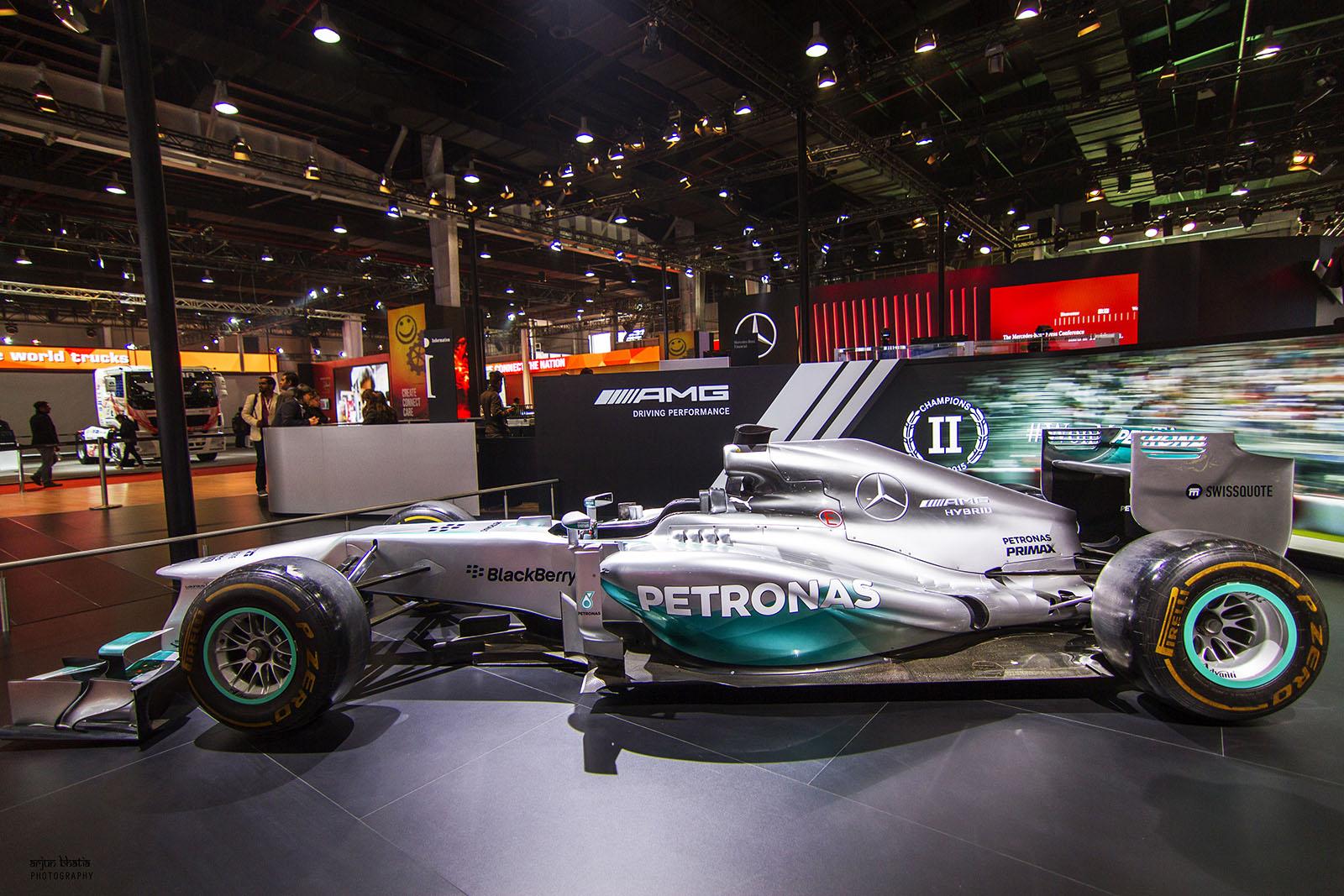 F1 W04 Hybrid AMG Petronas Delhi Auto Expo 2016 2