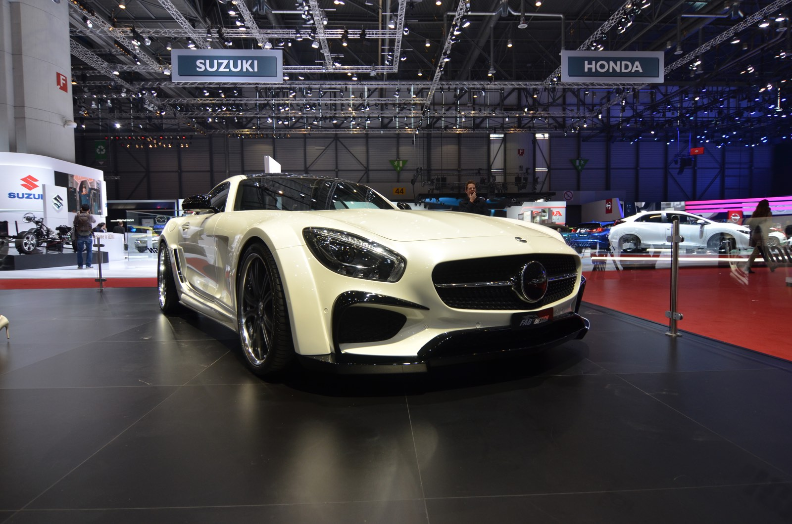 FAB Design AMG GT at Geneva Motor Show 2016