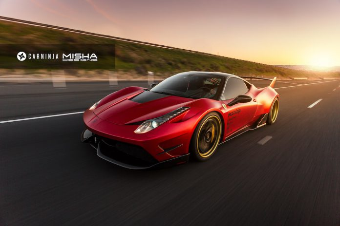 Ferrari 458 by Misha Designs (1)