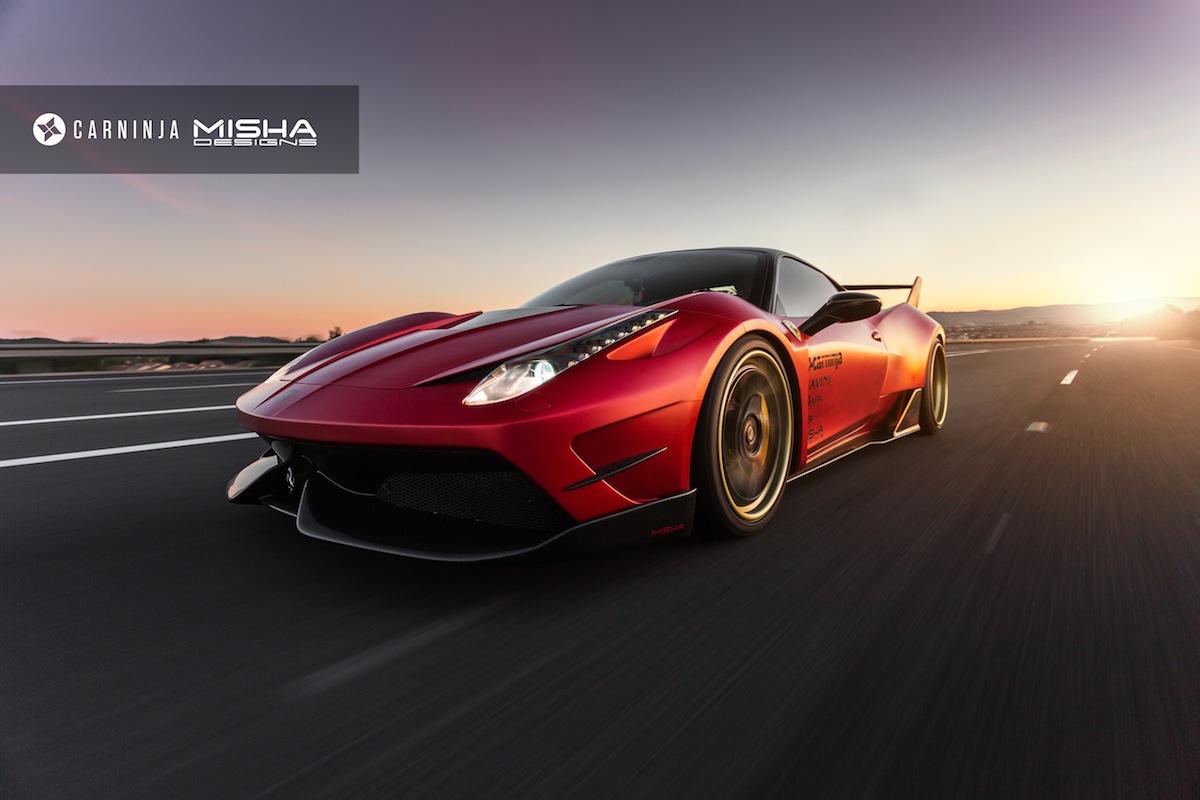 Ferrari F40 For Sale >> Misha Designs Ferrari 458 Widebody Photoshoot - GTspirit