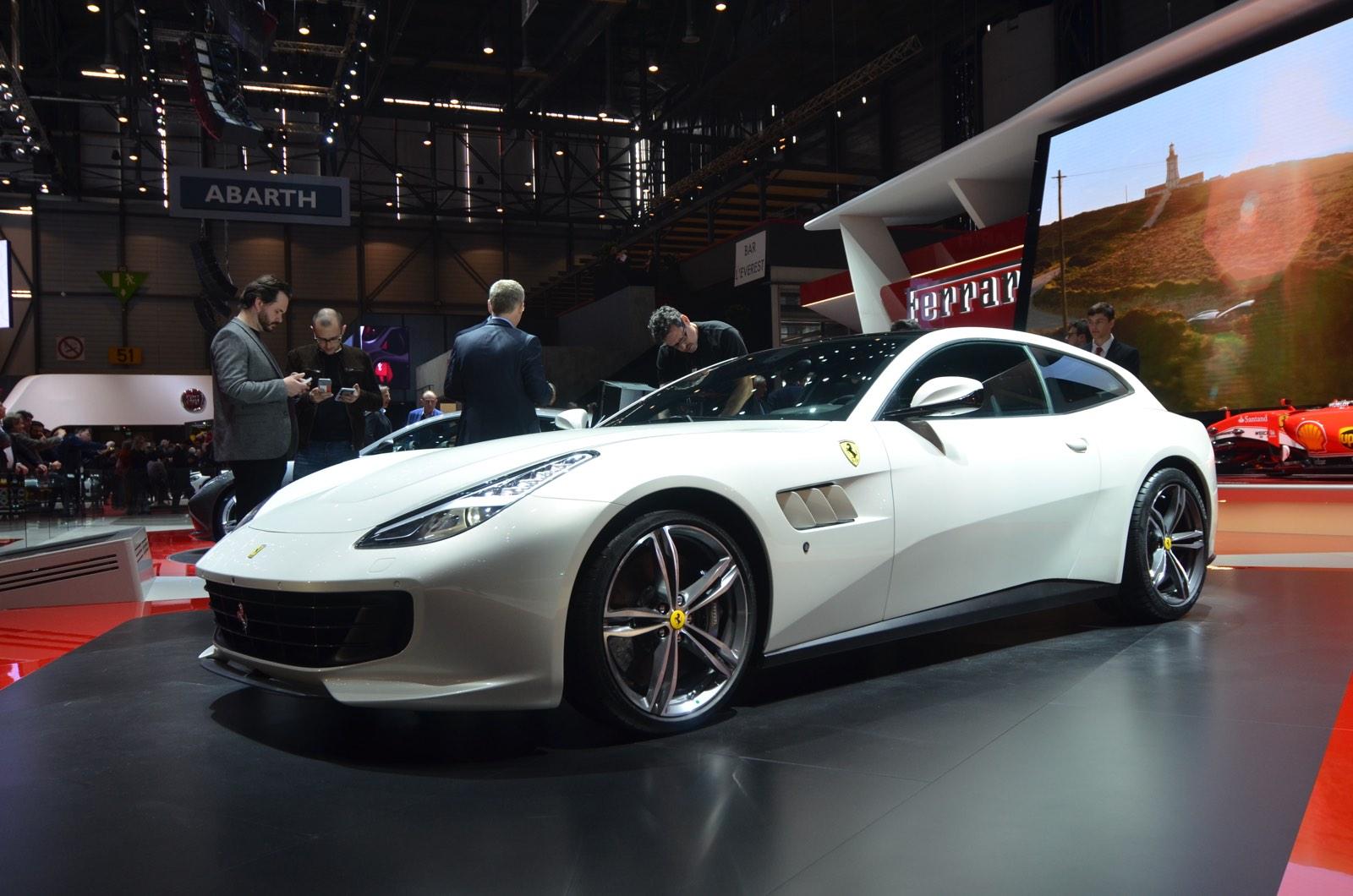 Ferrari GT4C Lusso at Geneva 2016
