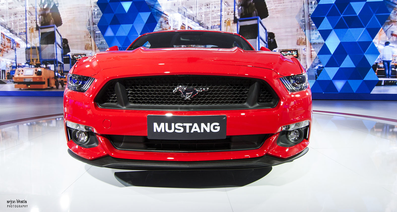 Ford Mustang Delhi Auto Expo 2016 2