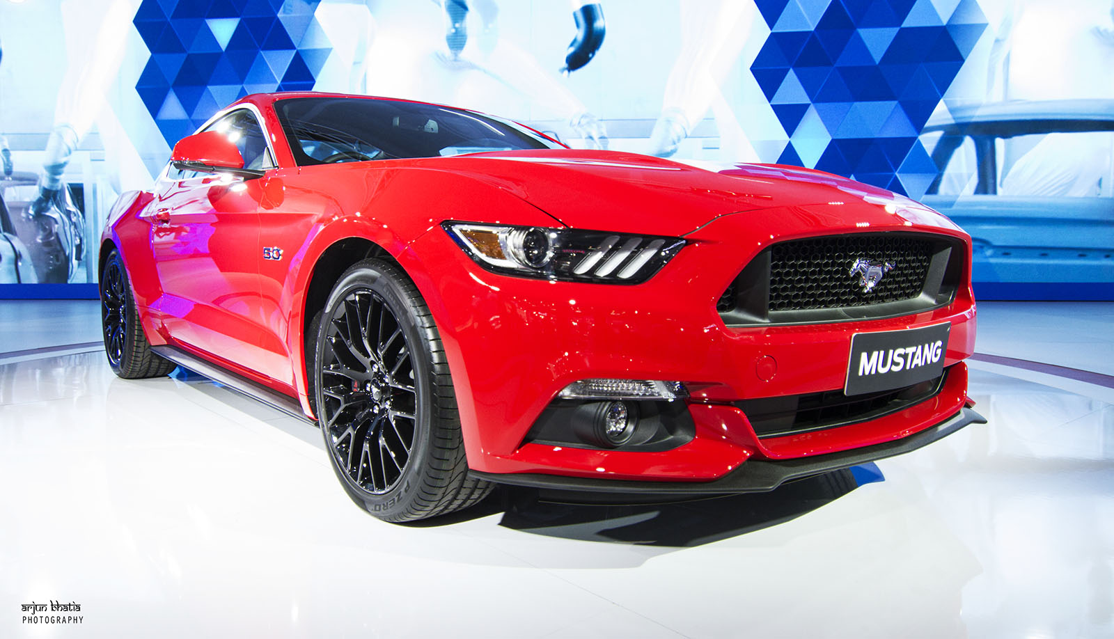 Ford Mustang Delhi Auto Expo 2016 3
