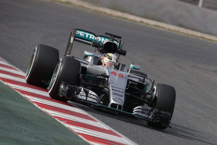 Hamilton set the highest mileage of the day after clocking 156 laps