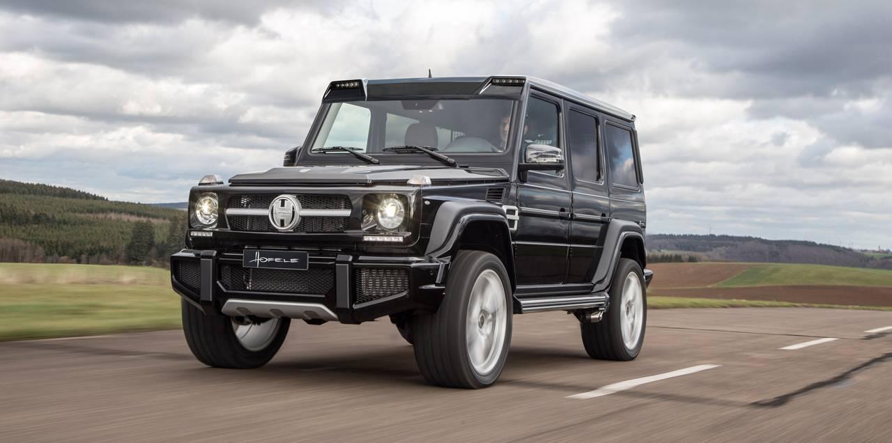 Exclusive hofele design g cross redefines the mercedes for Mercedes benz 663