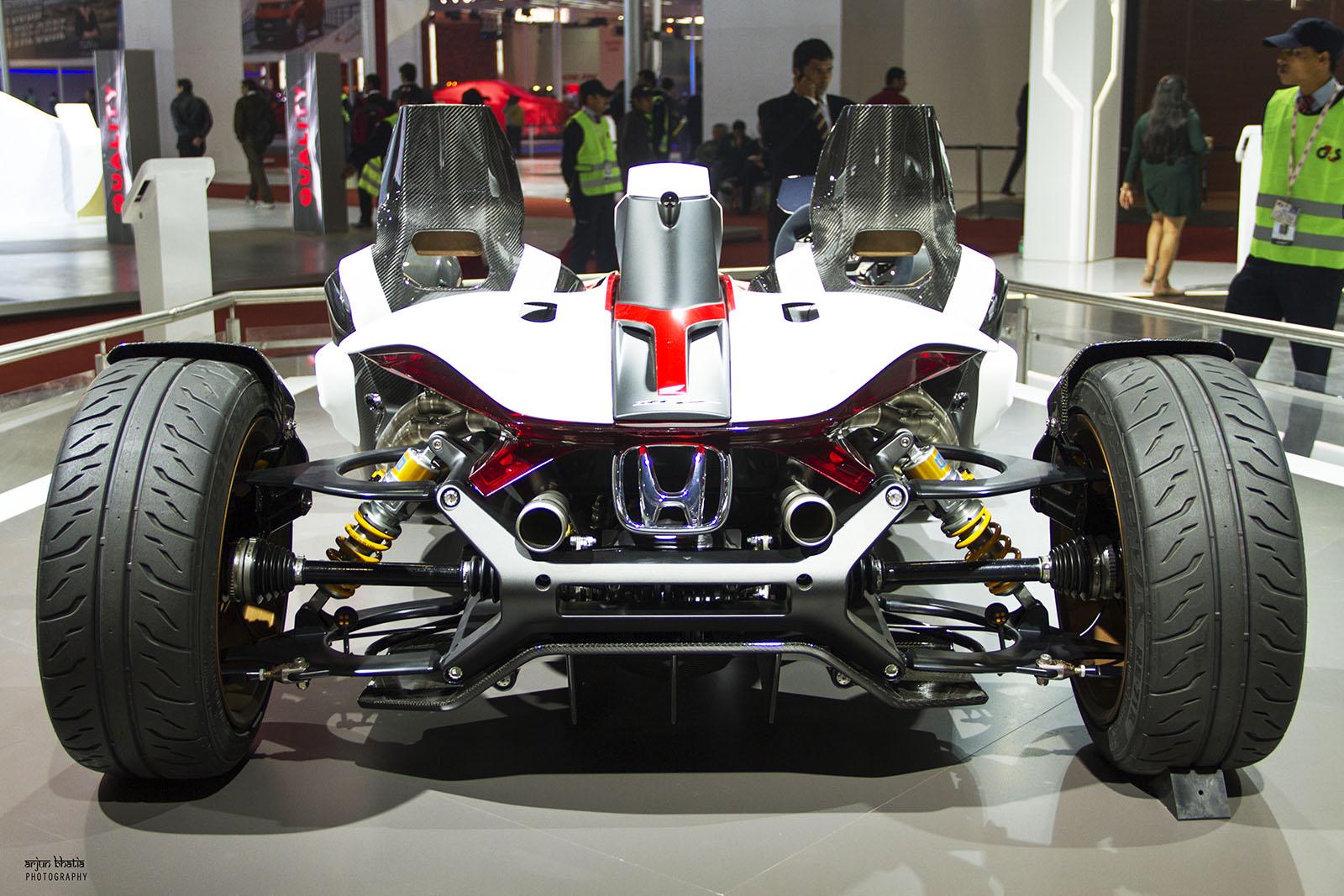 Honda Project 2&4 concept Delhi Auto Expo 2016 2