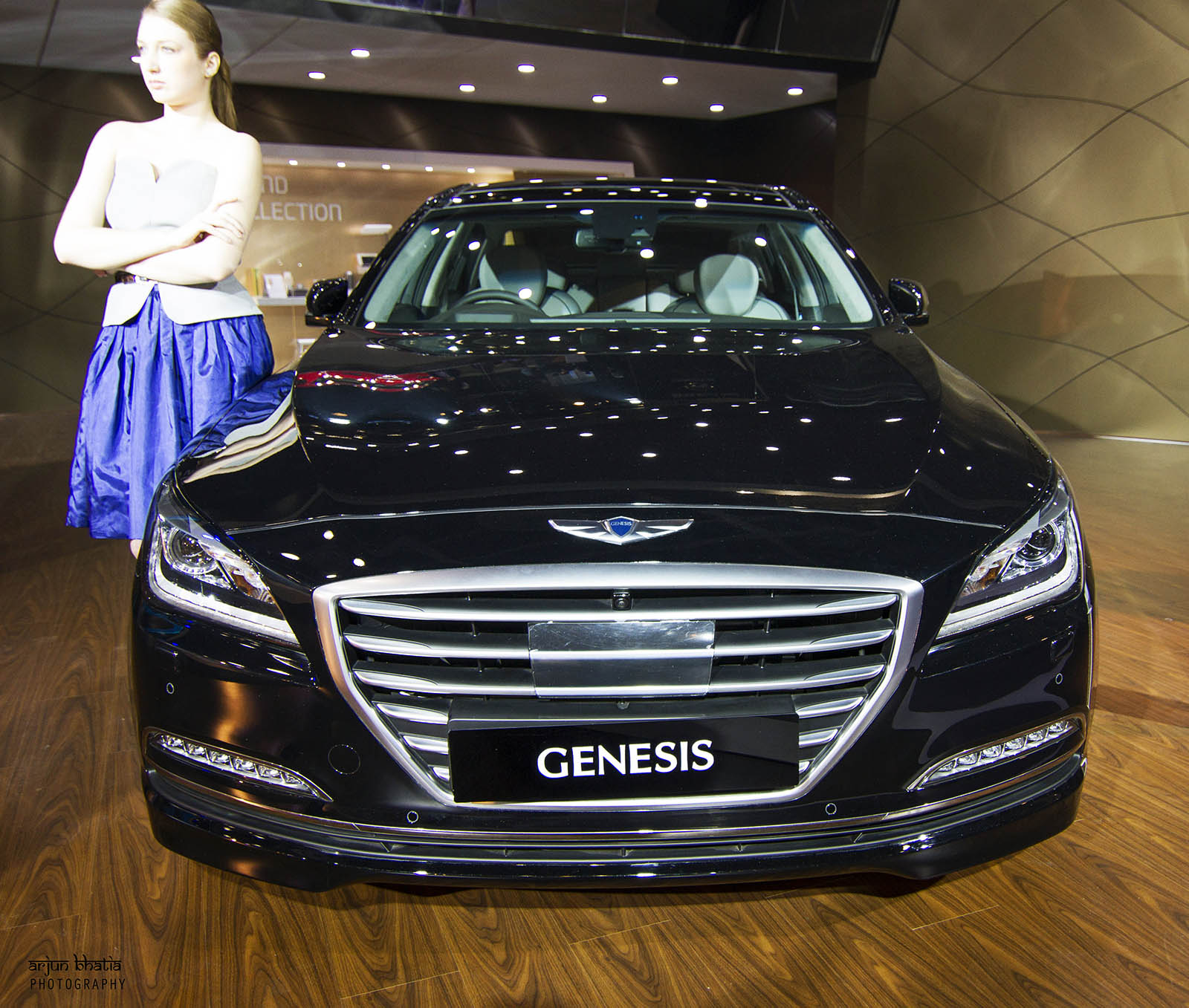 Hyundai Genesis Delhi Auto Expo 1