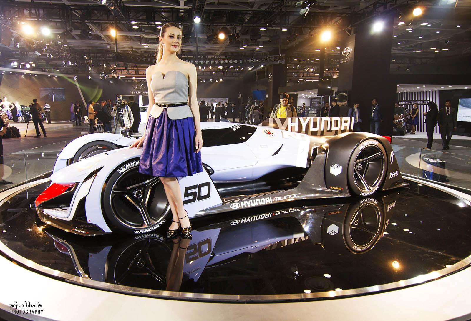 Hyundai N 2025 Vision Gran Turismo concept Delhi Auto Expo 1