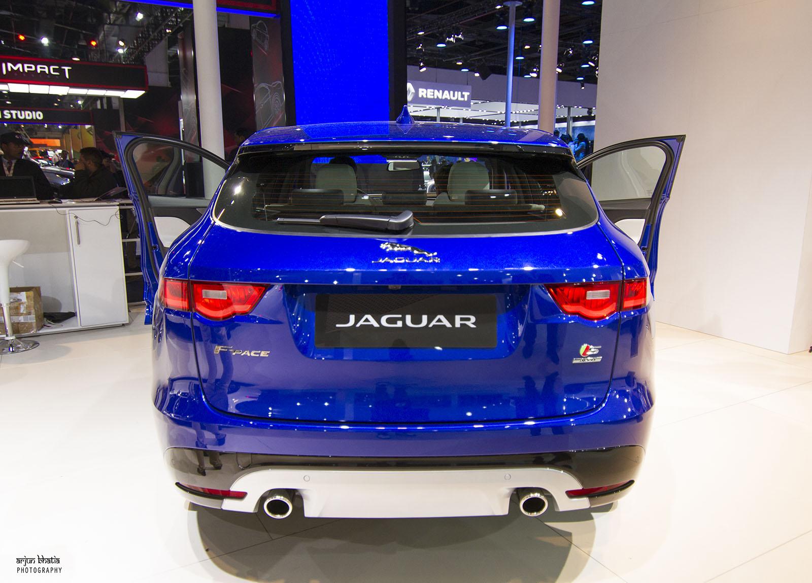 Jaguar F Pace S Delhi Auto Expo 2016 3