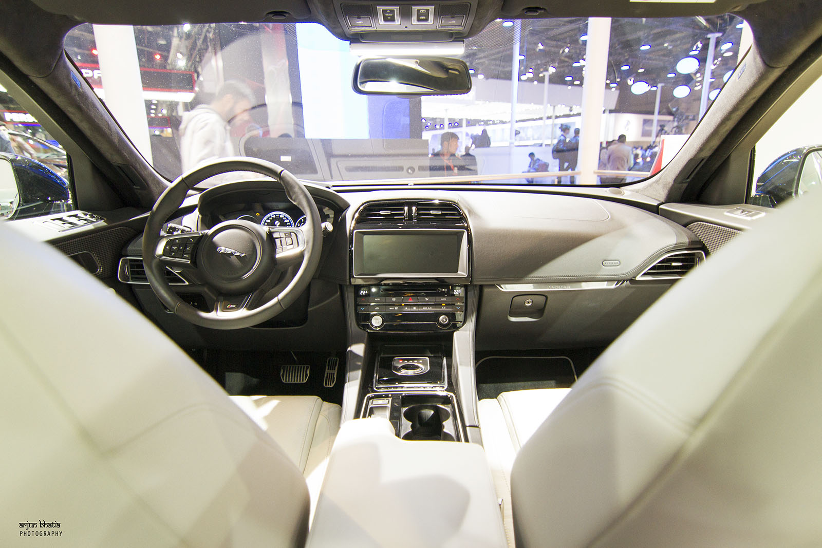 Jaguar F Pace S Delhi Auto Expo 2016