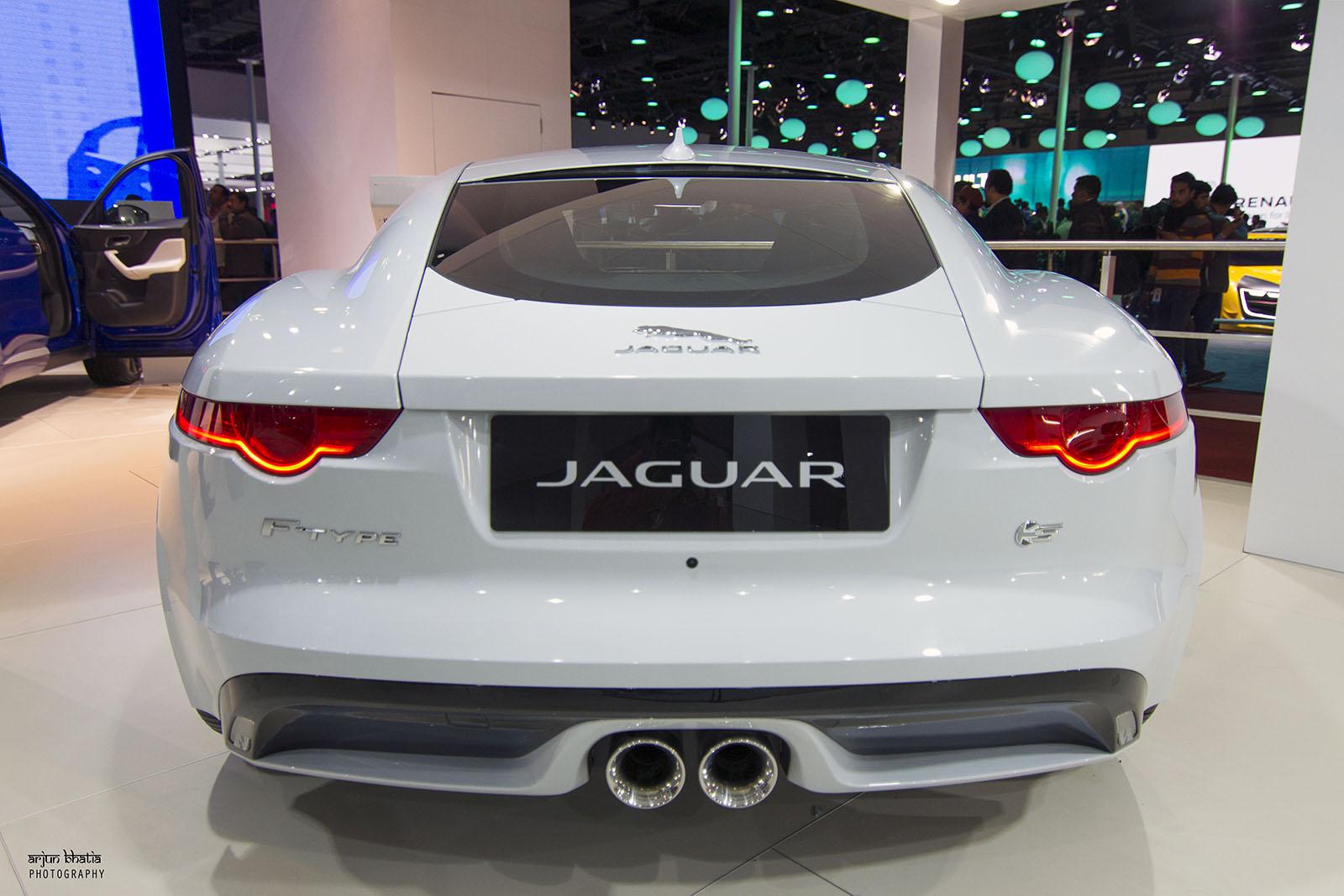 Jaguar F Type S Delhi Auto Expo 2016 1