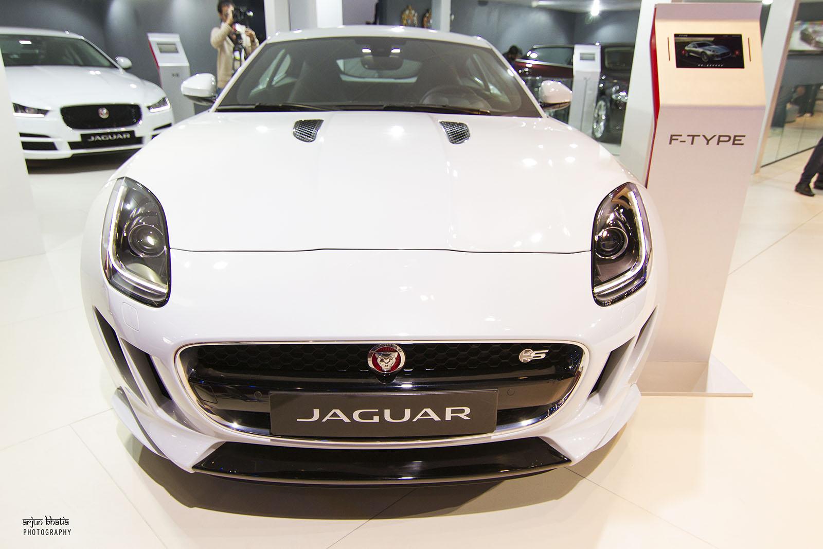 Jaguar F Type S Delhi Auto Expo 2016 5