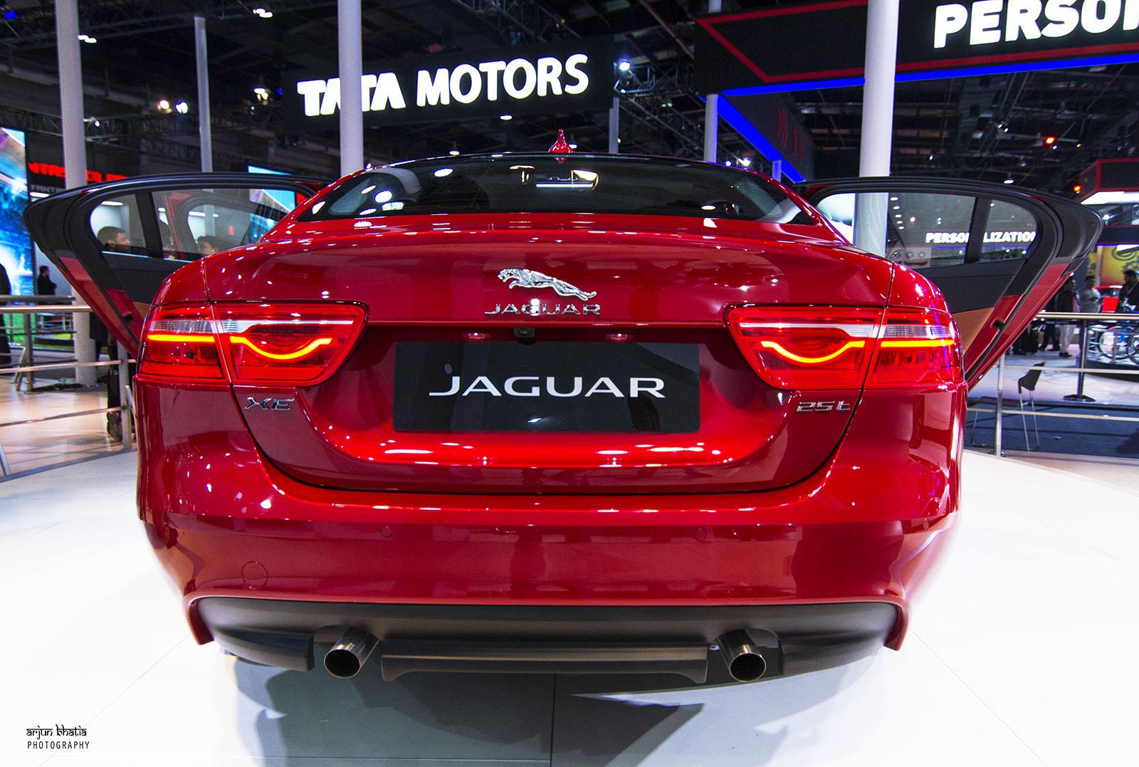 Jaguar XE Delhi Auto Expo 2016 1