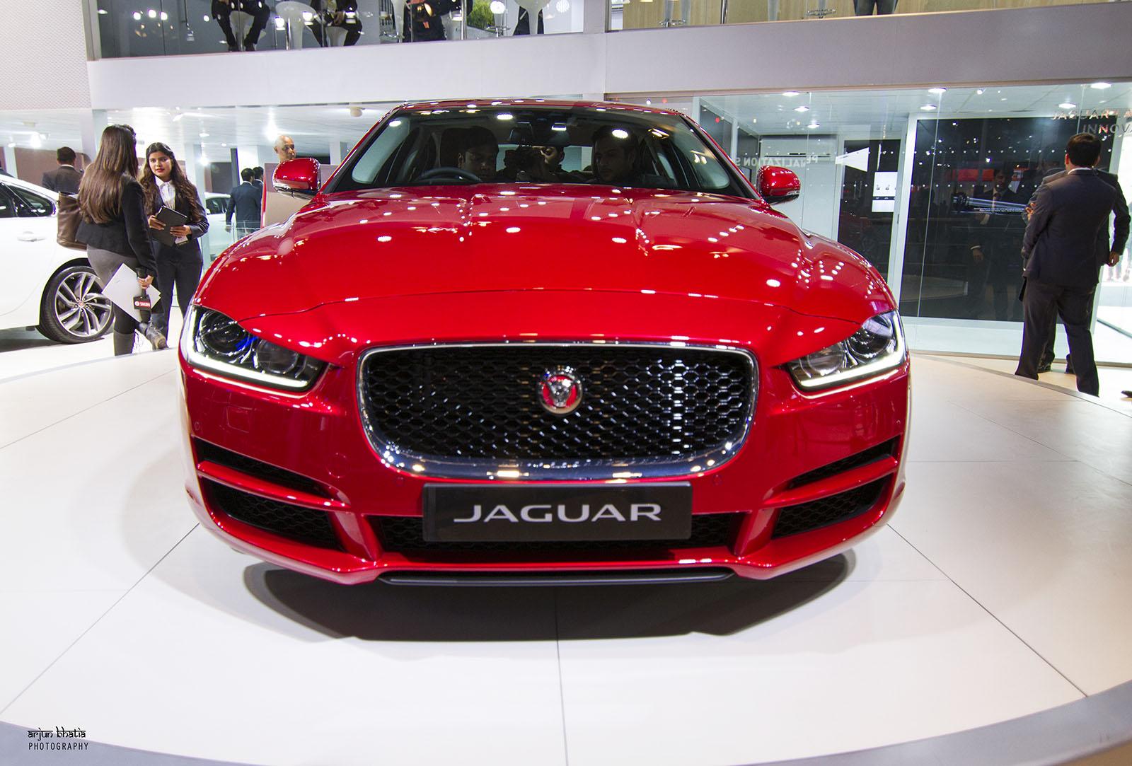 Jaguar XE Delhi Auto Expo 2016 2