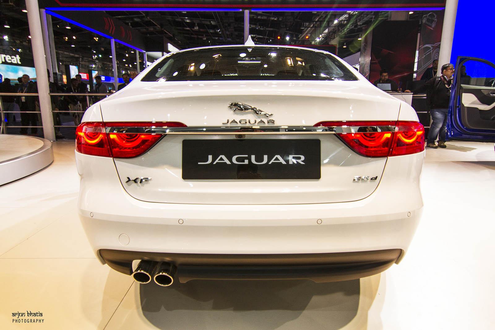 Jaguar XF Delhi Auto Expo 2016 1