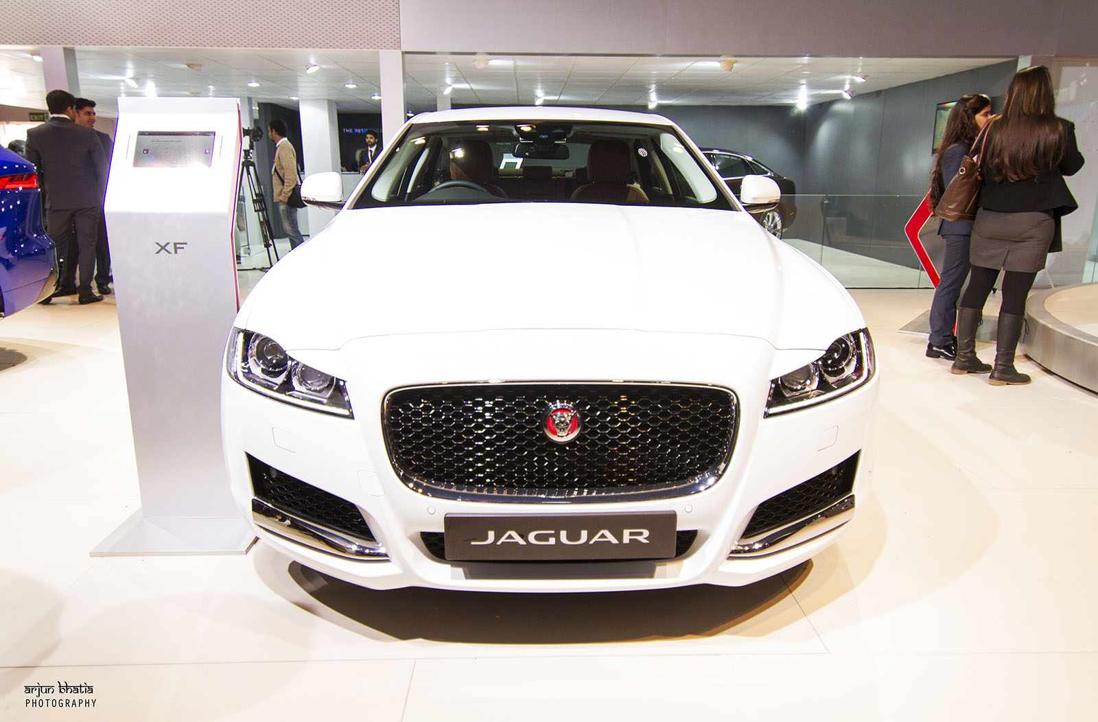 Jaguar XF Delhi Auto Expo 2016 2