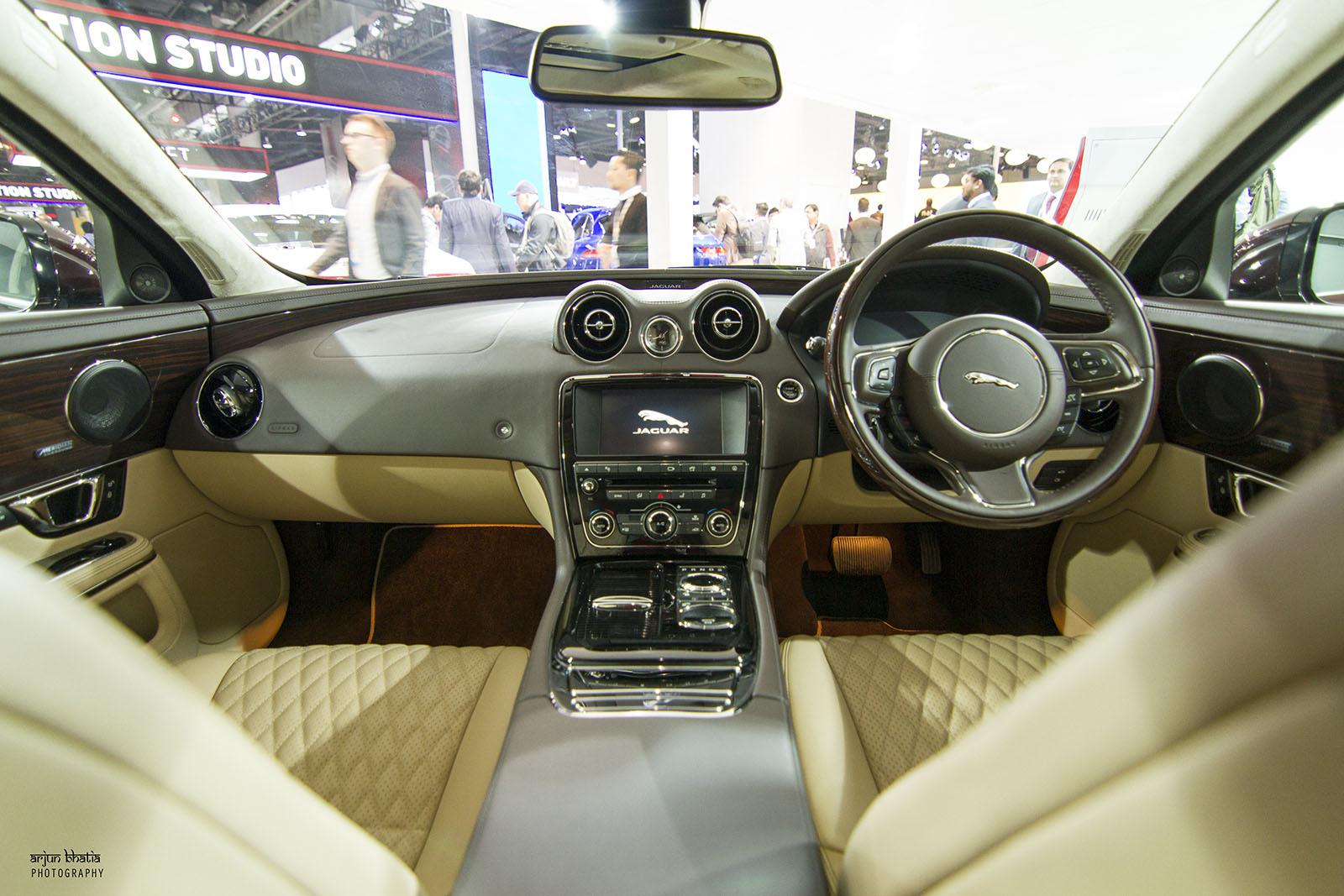 Jaguar XJ Delhi Auto Expo 2016