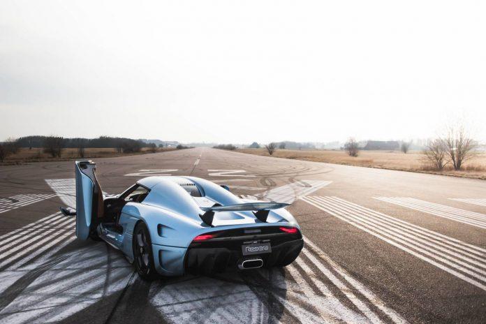 Koenigsegg Regera rear end