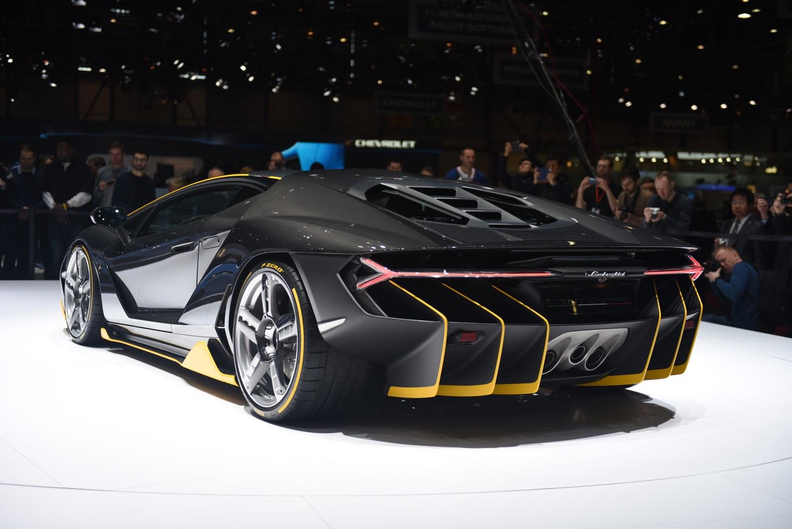 Geneva 2016 Lamborghini Centenario Gtspirit