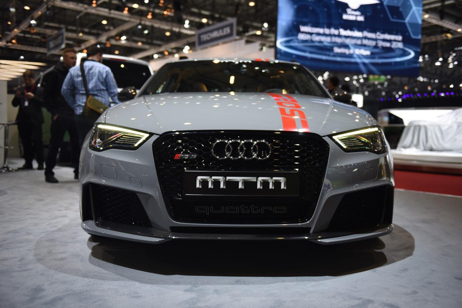 Geneva 2016: MTM Audi RS3 R - GTspirit