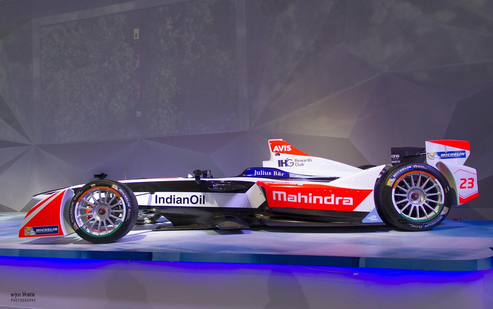 Mahindra Racing Formula-E car 1