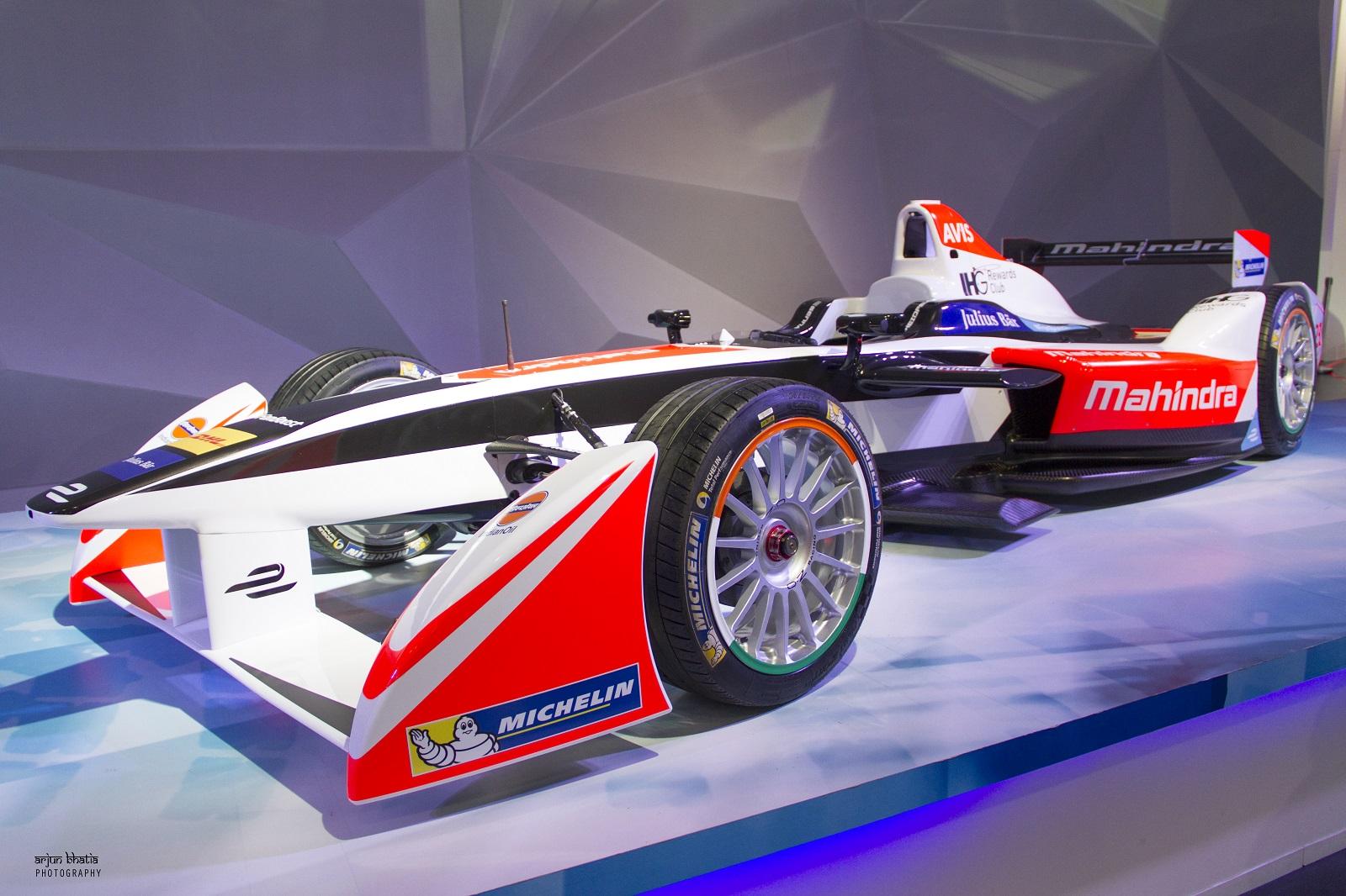 Mahindra Racing Formula-E car 2