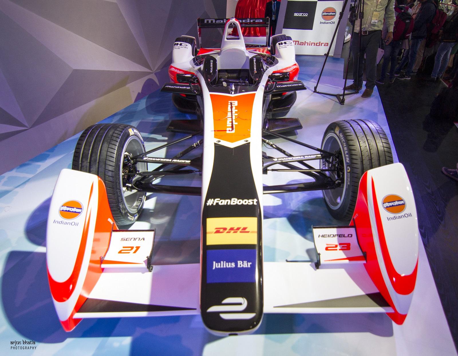 Mahindra Racing Formula-E car 3