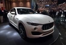 Maserati Levante at Geneva Motor Show 20161