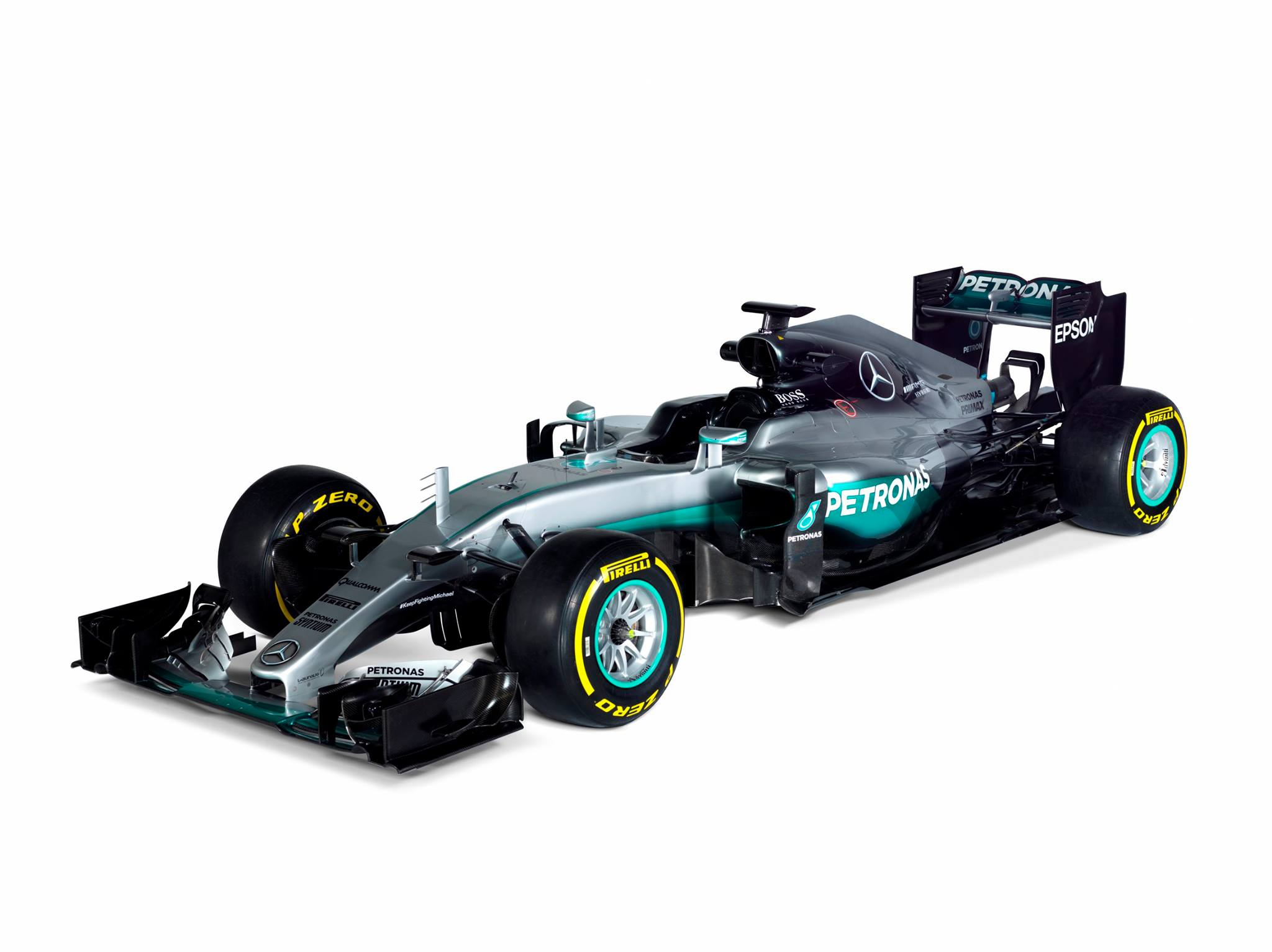 Official 2016 mercedes amg f1 w07 hybrid gtspirit for Mercedes benz f1