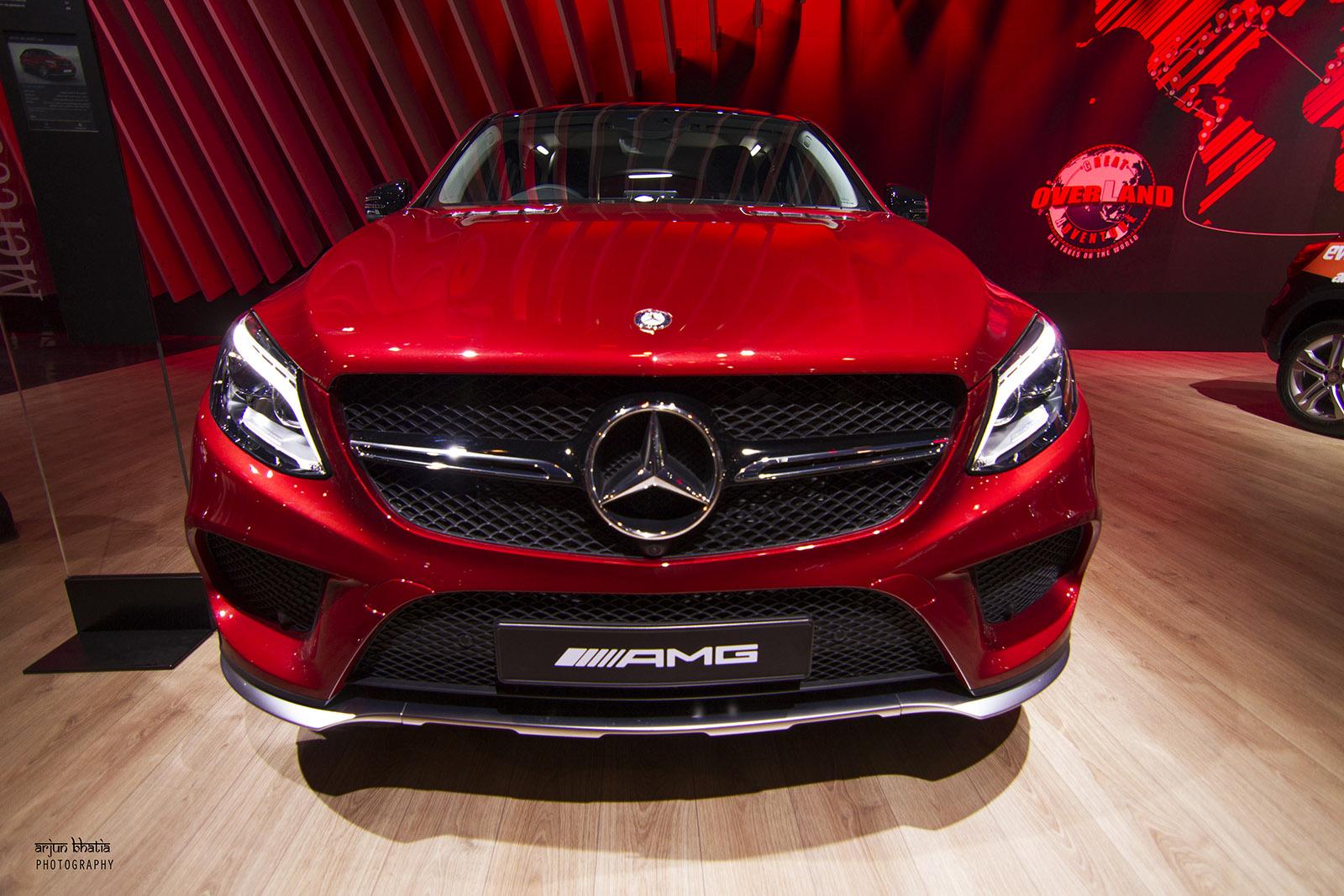Mercedes-AMG GLE450 Delhi Auto Expo 2016