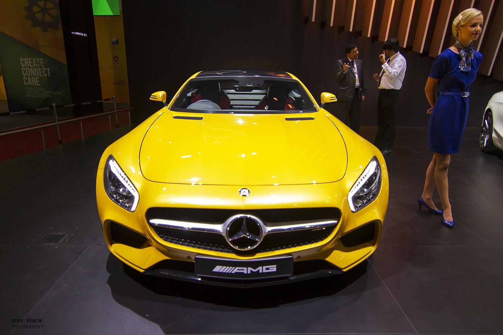 Mercedes-AMG GT S Delhi Auto Expo 2016 1