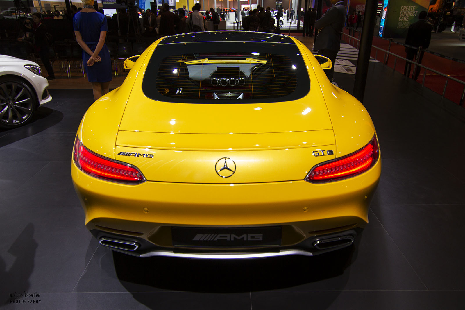 Mercedes-AMG GT S Delhi Auto Expo 2016 2