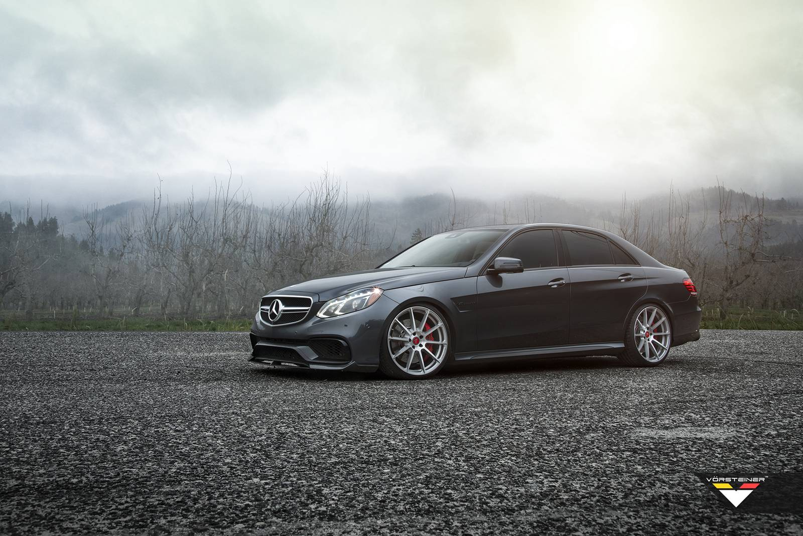 Official vorsteiner mercedes benz e63 amg aero program for Mercedes benz e class e63 amg