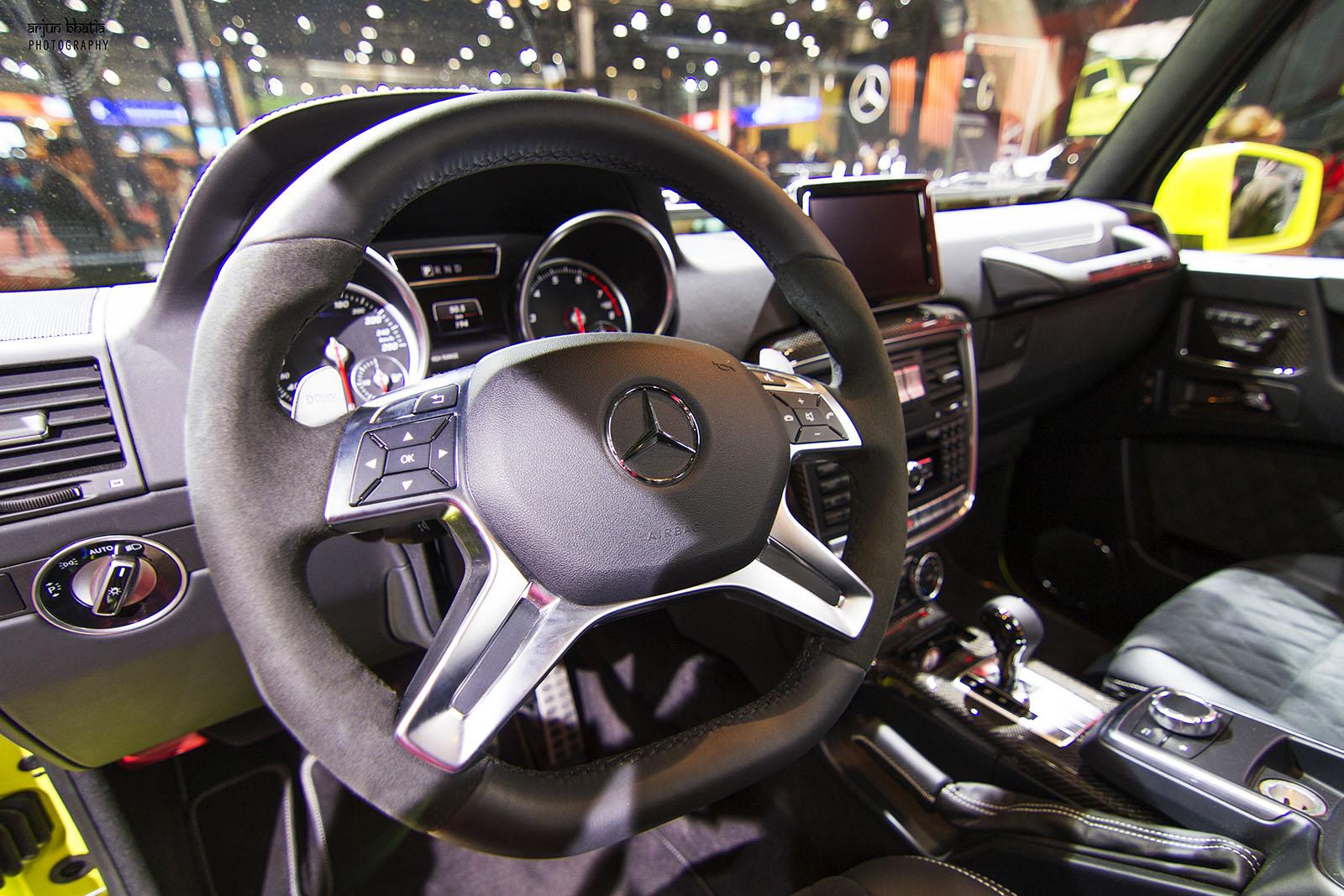 Mercedes-Benz G500 4X4 Delhi Auto Expo 2016 1