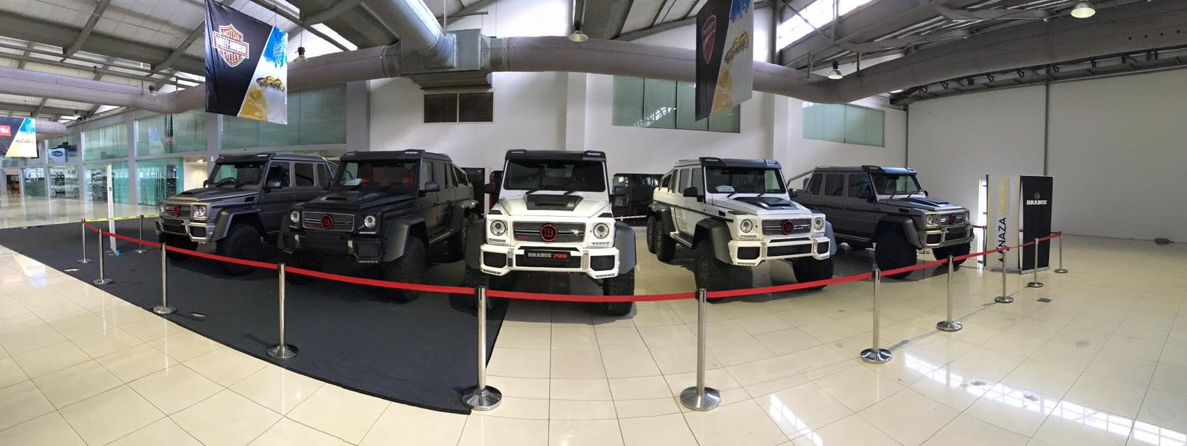 15 Brabus 700 Mercedes Benz G63 Amg 6x6 In Malaysia Gtspirit