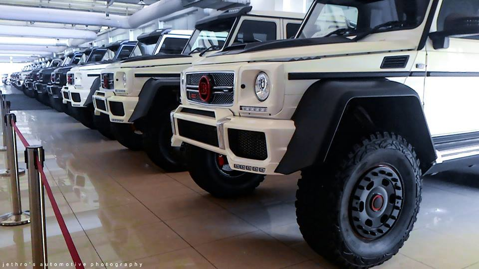 15 brabus 700 mercedes benz g63 amg 6x6 in malaysia gtspirit. Black Bedroom Furniture Sets. Home Design Ideas
