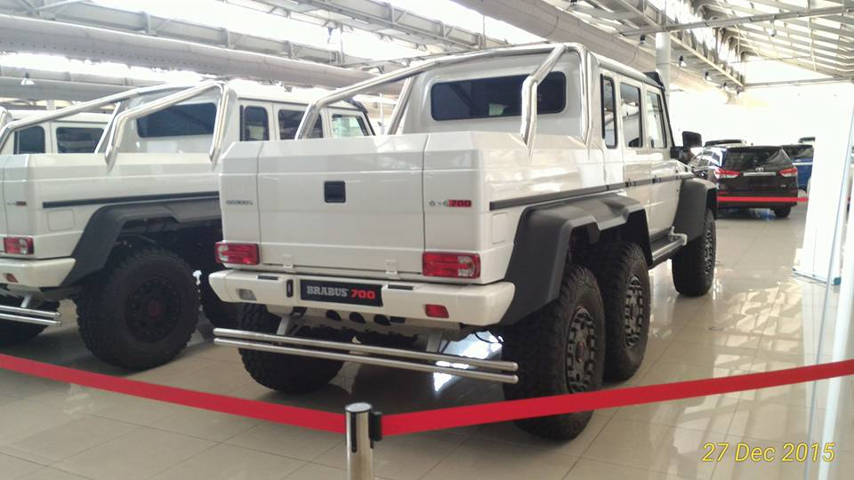 15 brabus 700 mercedes benz g63 amg 6x6 in malaysia gtspirit for How much is a mercedes benz g63