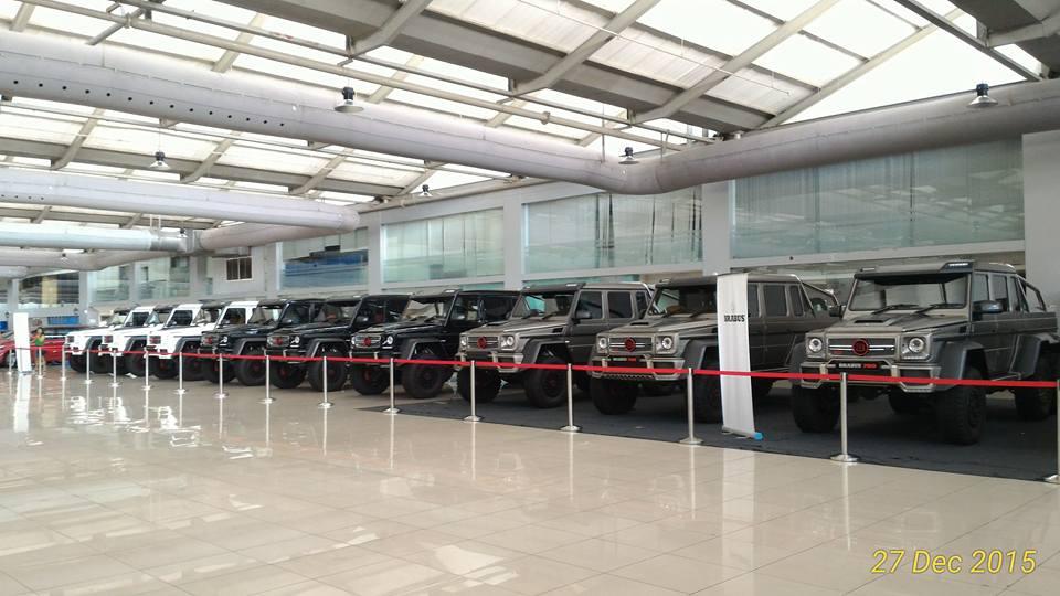15 Brabus 700 Mercedes-Benz G63 AMG 6×6 in Malaysia