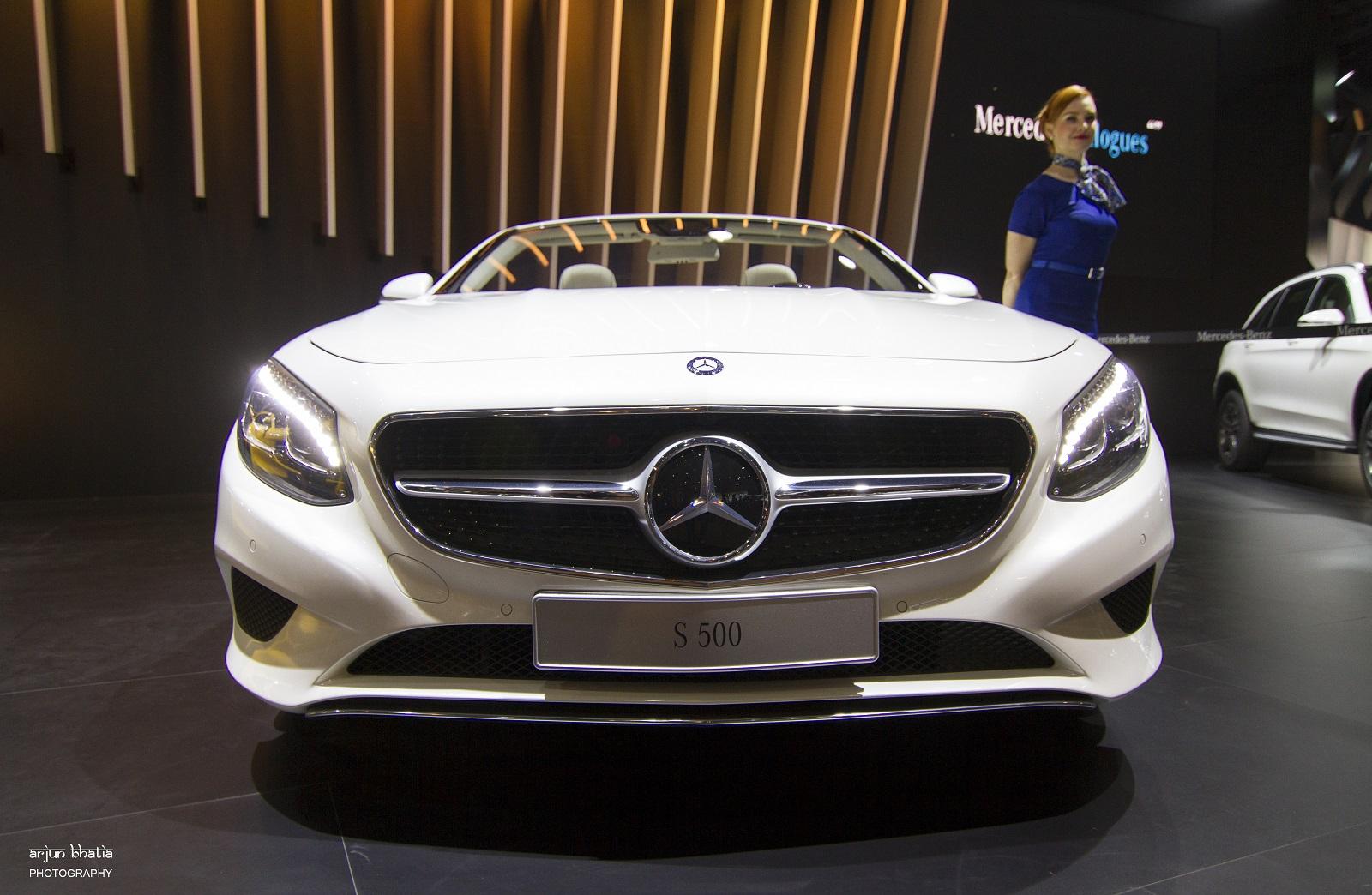 Mercedes-Benz GLC-Class Delhi Auto Expo 2016 1