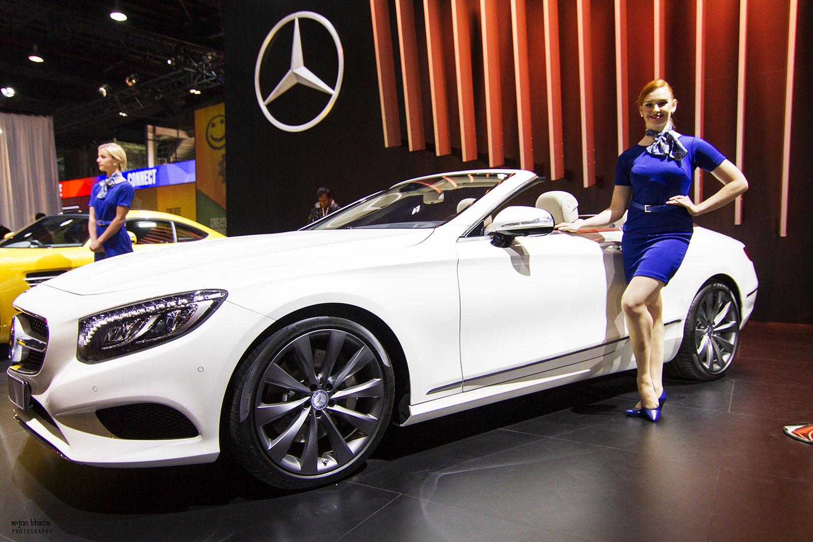 Mercedes-Benz S-Class Cabriolet Delhi Auto Expo 2016 2