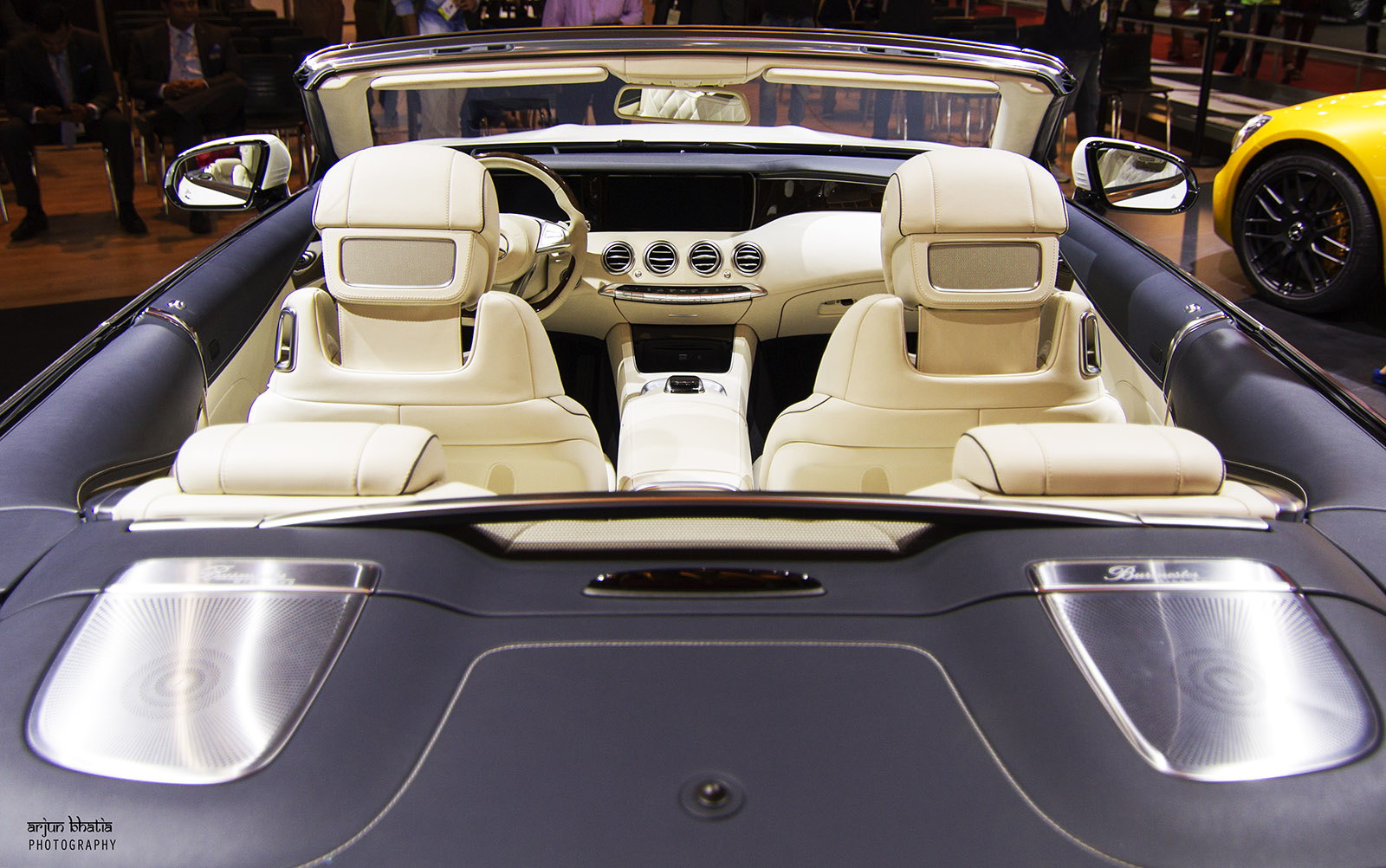 Mercedes-Benz S-Class Cabriolet Delhi Auto Expo 2016 3